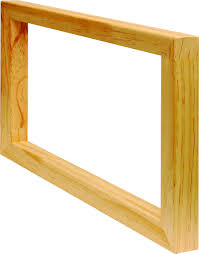 wood canvas rainbow colours wholesale canvas frames varnish