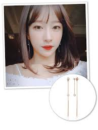 earrings trends must see earrings trends korean are wearing on and