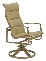 Swivel Patio Dining Chairs Tropitone Mainsail Swivel Patio Dining Chair U0026 Reviews Wayfair