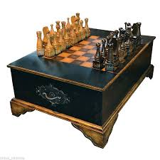 cool chess pieces cool chess coffee table on wooden multi game table ivory authentic