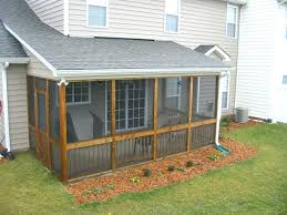 shed turned screened porch screening options kits lowes