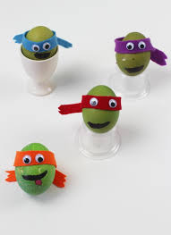 Decorating Easter Eggs For Toddlers by Teenage Mutant Ninja Turtle Decorated Eggs Children Play