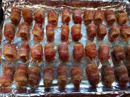 thanksgiving turkey wrapped in bacon bacon wrapped lil smokies with brown sugar mcnack u0027s kitchen
