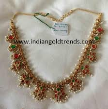 pearl necklace jewelry box images Pin by dj on guta pusalu pinterest indian jewelry antique jpg