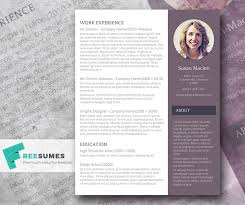 Resume Templates For Word Free Resume Template The Sophisticated Candidate