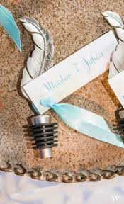 wedding bohemian wedding favours beautiful feather wine stoppers combine the of a boho wedding theme
