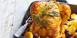 poulet aux citrons confits cuisine poulet rôti aux olives et au citron confit recettes femme actuelle
