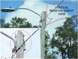 utility pole light fixtures streetlight pole pole life systems