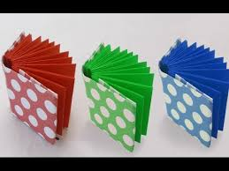 diy project ideas how to make a mini origami book crafts