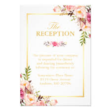 wedding reception cards reception cards invitations greeting photo cards zazzle