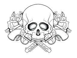 printable coloring pages sugar skulls coloring pages of skulls girl skull coloring pages skulls printable