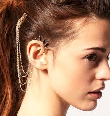 how do you wear ear cuffs varied ear cuffs model for you cosmetic ideas cosmetic ideas