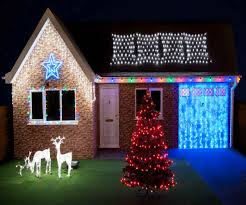 hanging christmas lights around windows awesome hologram christmas lights redesigns your home with more