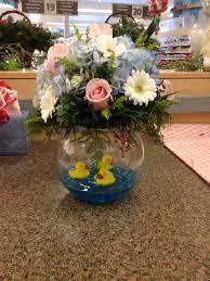 baby shower flower arrangement flowers by april soldi