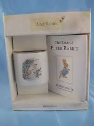 wedgewood rabbit wedgewood original rabbit christening money box and book set