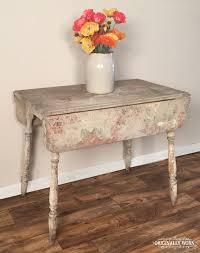 table leaf storage ideas antique drop leaf table with true patina chippy goodness by