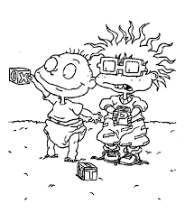 27 Rugrats Coloring Pages Images Rugrats