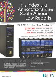 the index and annotations to the south african law reports 2009