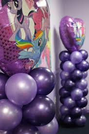 balloon arrangements chichi a sparkling purple birthday party celebration