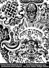 tibetan and buddhist tattoos by juno custom tattoo designer