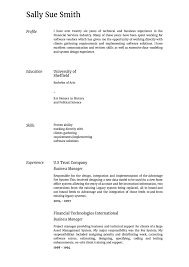 Business Manager Sample Resume by The Resume Builder