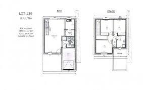 plan maison etage 3 chambres plan et photos maison 3 chambres de 90 m