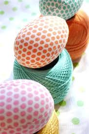 styrofoam easter eggs fabric covered easter eggs styrofoam fabric mod podge crochet