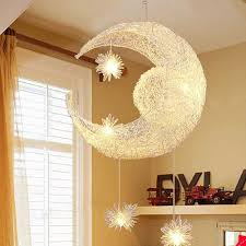 aliexpress com buy moon star pendant lamp for children bedroom