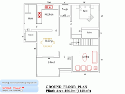 bhk simple home map in sq feet gallery also kerala plan and