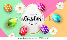 easter egg sale easter label vectors free vector stock graphics images