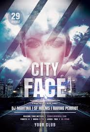 city face flyer by stylewish psd flyer template on graphicriver