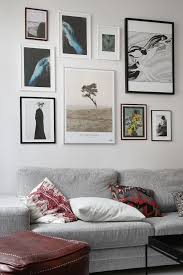 living room personable gray color of modular sofa pieces three