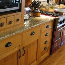 what color knobs look best on oak cabinets quartersawn oak kitchen and pantry kitchen cabinets oak