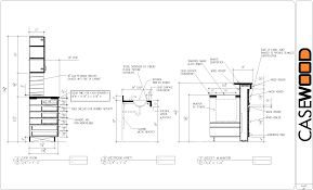 woodworking cabinet detail cad drawings plans pdf download cad