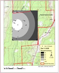 Michaux State Forest Map by Winter Ecology Of Northern Saw Whet Owls Thesis By Julie Shaw