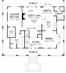 House Plan With Wrap Around Porch Ranch Floor Plans With Wrap Around Porch Floor Plans Wrap Around