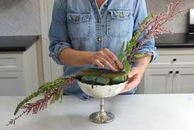 how to make flower arrangements how to make an asymmetrical flower arrangement can