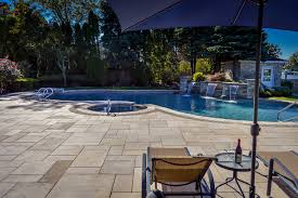 Pool Patio Design Swimming Pool Designs In Island Ny Above All Masonry