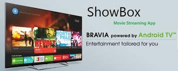showbox for sony bravia smart tv