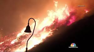 California Wildfire Dateline by Firefighters Gaining Control Over Explosive Ventura California
