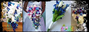 theme wedding bouquets hawaii weddings bouquets flowers arrangments