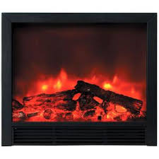 Recessed Electric Fireplace Y Decor Uplifter 36 In Recessed Electric Fireplace In Black Fp920