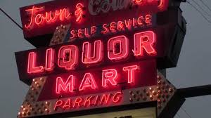 Liquor Signs Town U0026 Country Liquor Mart Vintage Neon Sign Chicago Youtube