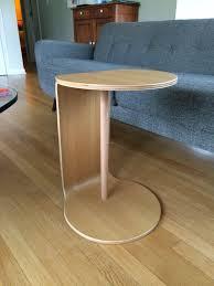 C Side Table Cb2 Slip C Table Fix Project Du Jour
