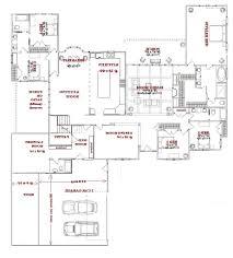 Single Story Open Concept Floor Plans Baby Nursery House Plans One Story Open Concept Home Elevation