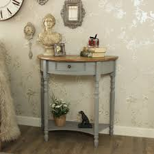 half round console table console tables occasional tables telephone tables melody maison