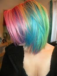 ways to dye short hair best 25 short rainbow hair ideas on pinterest rainbow hair
