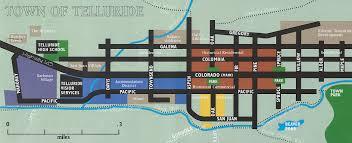 Telluride Colorado Map by Ray U0027s Telluride Maps U2013 Telluride Sotheby U0027s International Realty