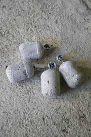 concrete tablecloth weights instructions ferrero rocher container these would be great to hang from your tent to help keep the rain from pooli