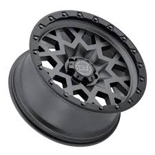 jeep with black rims black rhino sprocket wheel in gun metal with black lip edge for 07